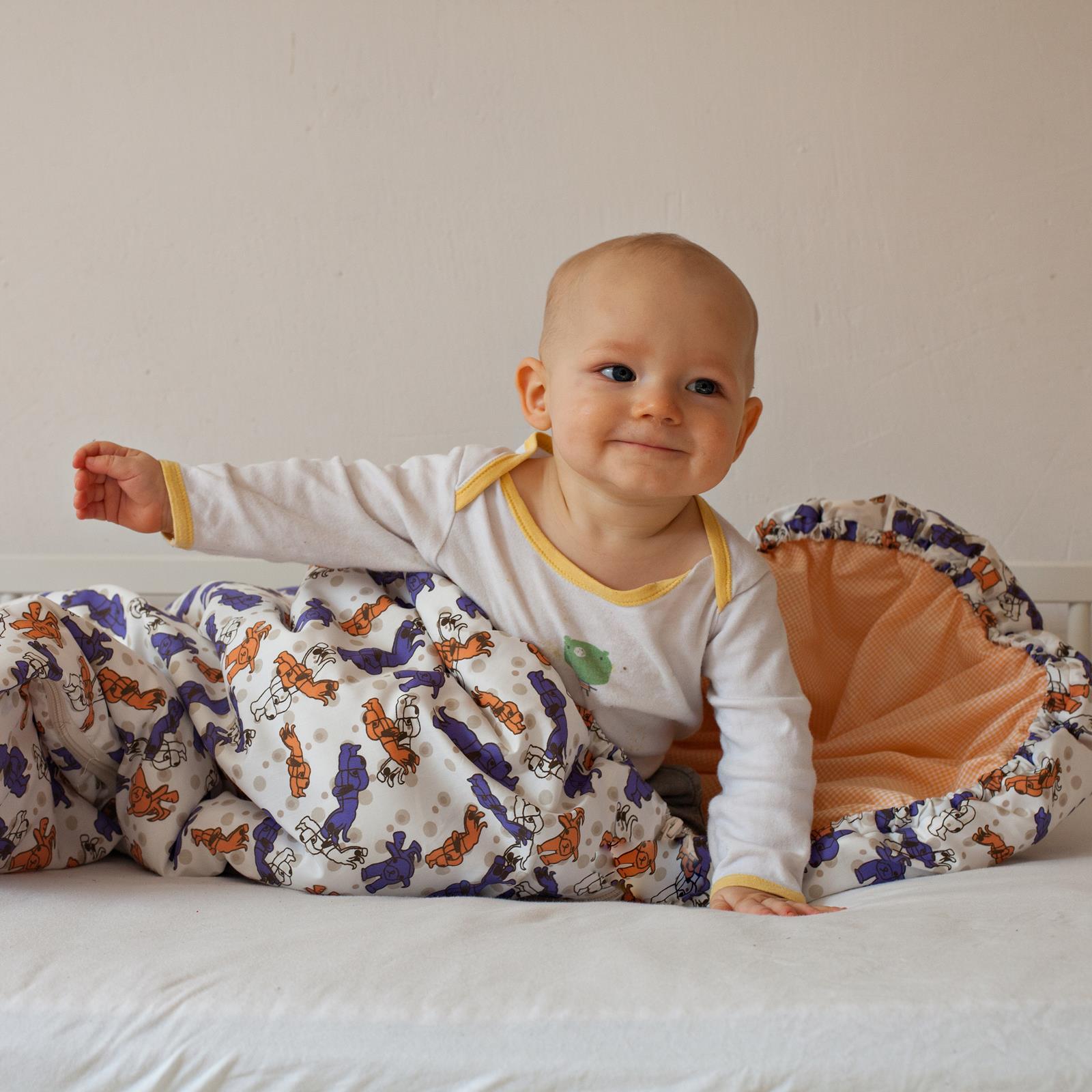 Dětský spací pytel Pejsek Puntík 100x50 cm