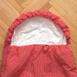 Dětský spací pytel Srdíčka 200x70cm