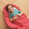 Dětský spací pytel Srdíčka 165x70 cm