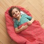 Dětský spací pytel Srdíčka 180x70cm