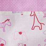 Kapsář Safari – růžový - závěsný