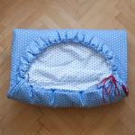 Dětský spací pytel Modrý s hvězdičkami 165x70cm