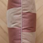 Bartex Dekorační polštář PRUHY cihlový 50x50