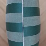 Bartex Dekorační polštář PRUHY zelený 50x50