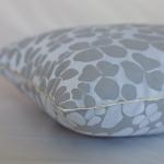 Bartex Dekorační polštářek JARO stříbrný 50x50