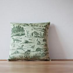 Bartex Dekorační polštářek MYSLIVECKÝ zelený 50x50