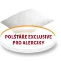 Polštáře Exclusive pro alergiky