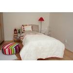 Dětský přehoz přes postel - dívčí, slonová kost