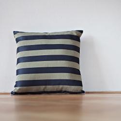 Bartex Dekorační polštář PRUHY modré 50x50
