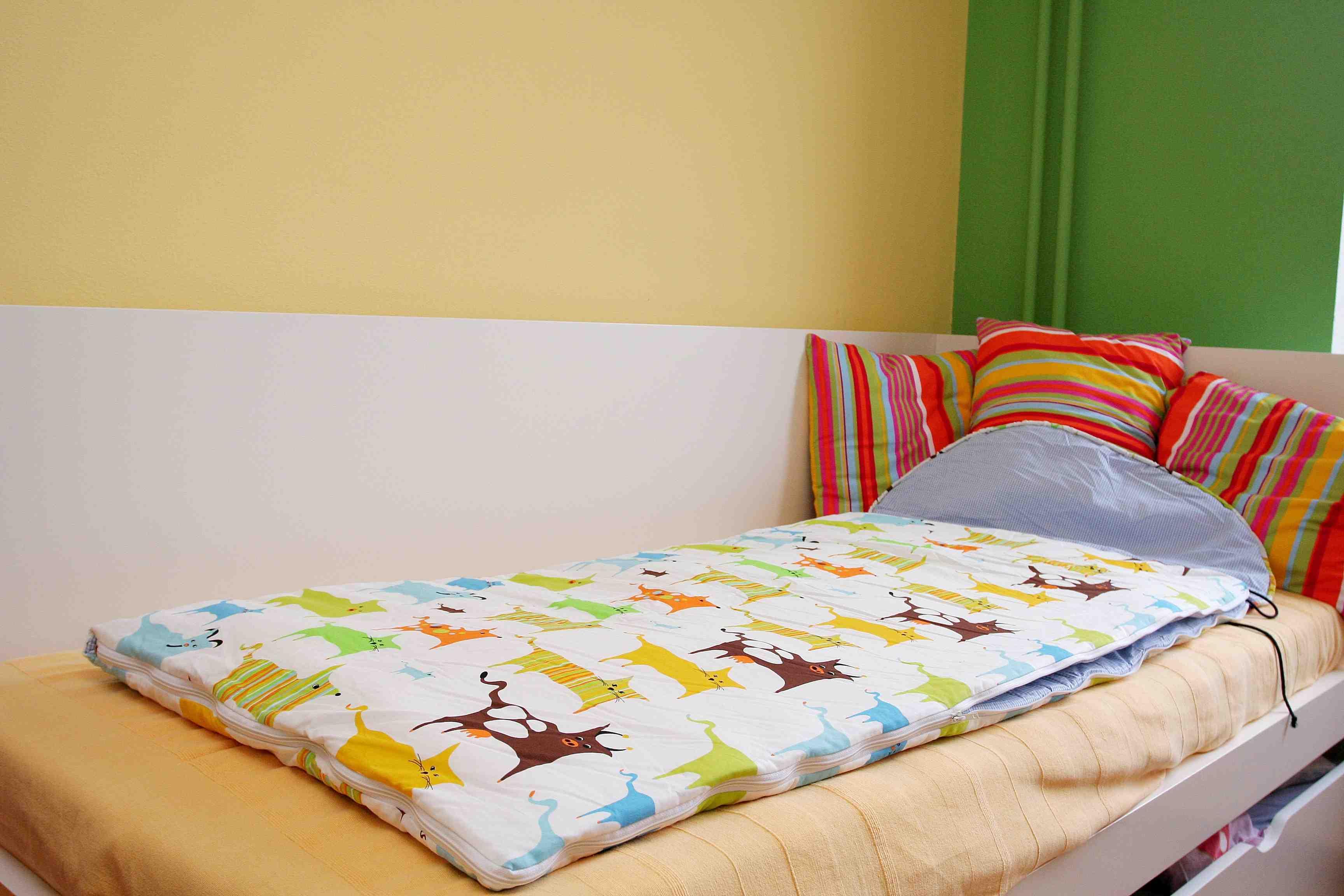 Dětský spací pytel Zvířátka 200x70cm